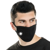 Custom Face Mask Reusable Washable Anti-haze Simple Pure Color Printed Cotton Face Mask for Adults